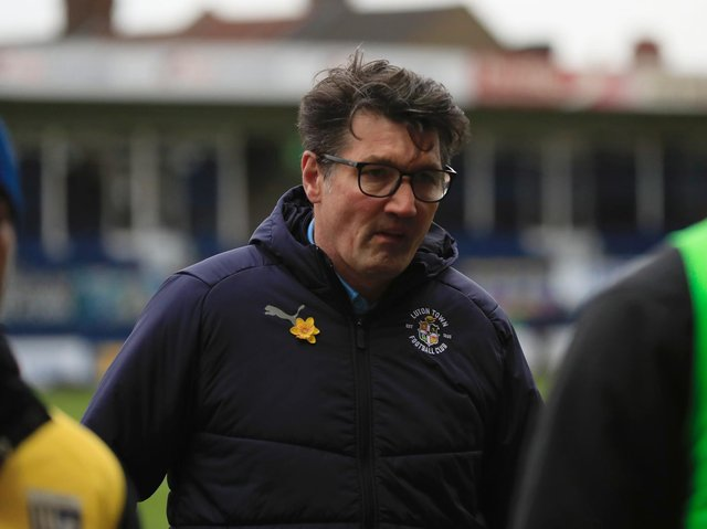 Town assistant boss Mick Harford