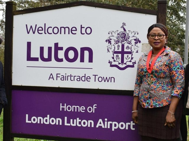 Cllr Maria Lovell is the new mayor of Luton
