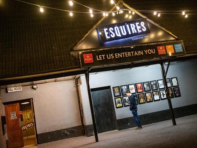 Esquires in Bedford reopens next week.