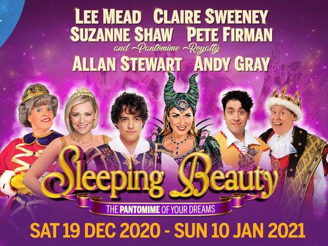 MK Theatre WILL host the Christmas panto Sleeping Beauty
