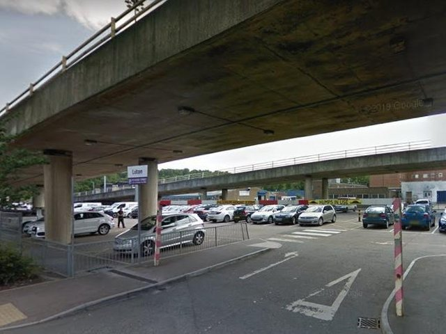 The Vicarage Street car park is located beneath the fly over, and accessible via Lea Road