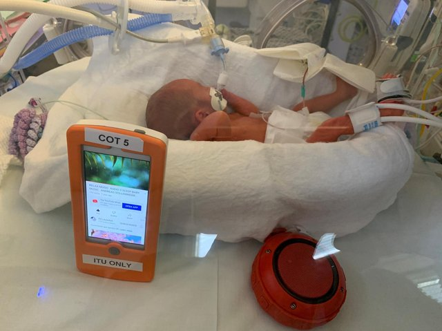 Music therapy for premature babies at Luton and Dunstable ...