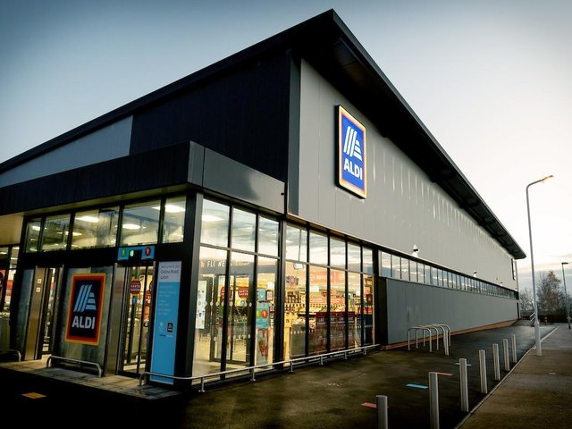 The newly rebuilt Aldi store on Dallow Road