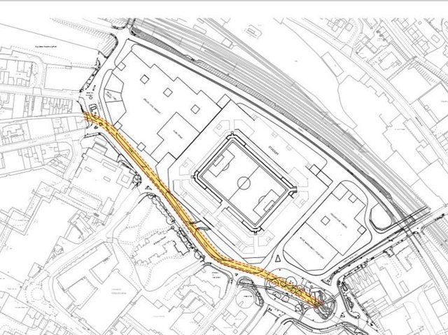 Luton Town's designs for a new stadium at Power Court