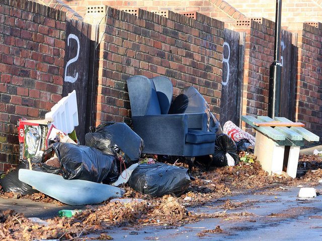 Fly-tipped waste was reported 6,190 times in Luton during 2019/20.