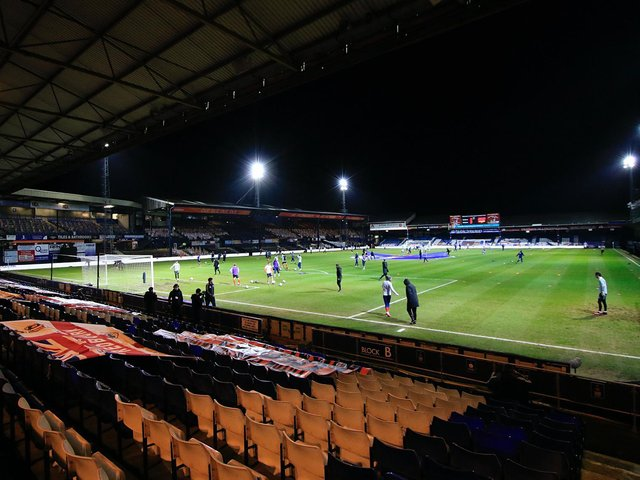 Luton's game with Rotherham has been postponed