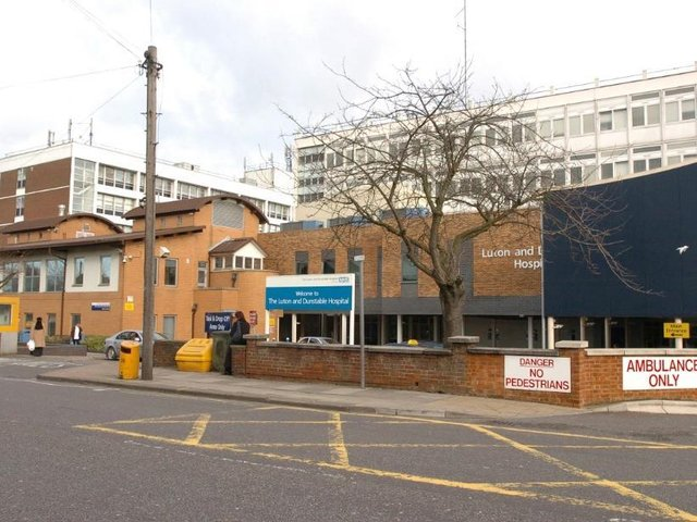 At Luton & Dunstable Hospital, 80 per cent of white staff have been vaccinated compared to 65.5 per cent of BAME staff