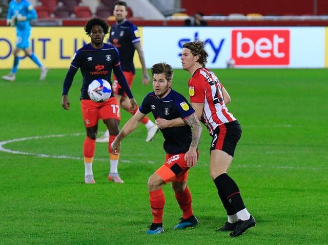 Town striker James Collins