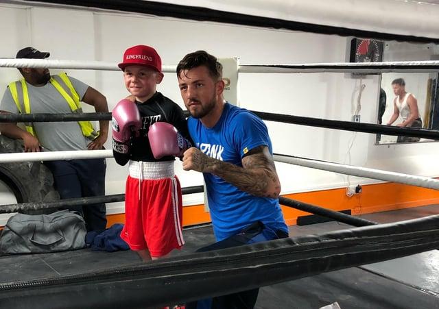 Luton fighter Jordan Reynolds