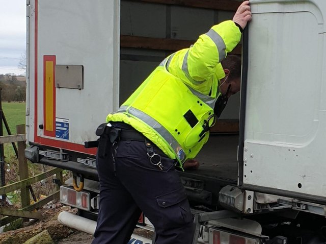 Lorry search