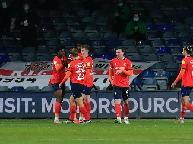 Elijah Adebayo gets the plaudits after making it 2-0 from the penalty spot against Coventry