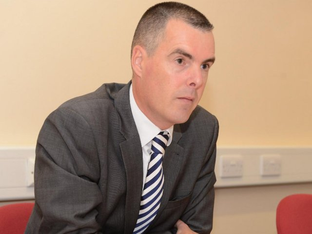 Olly Martins was PCC of Bedfordshire from 2012 to 2016