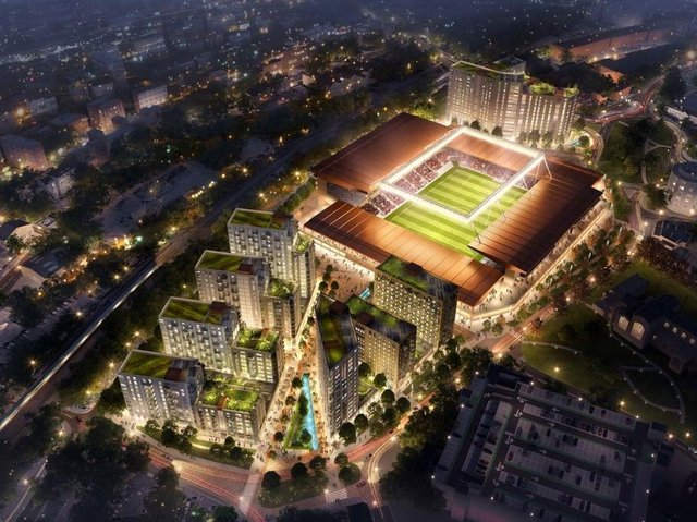 An artist's impression on how Power Court will look
