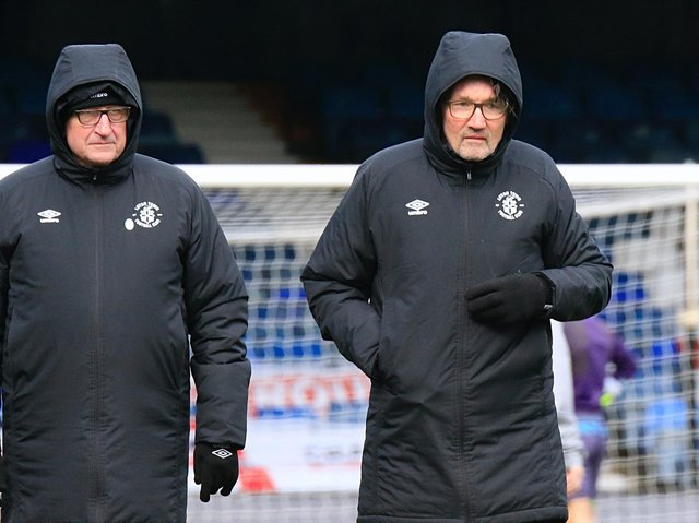 Hatters assistant boss Mick Harford