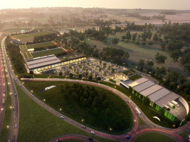 An artist's impression of how Newlands Park could look - pic: Leslie Jones Architecture