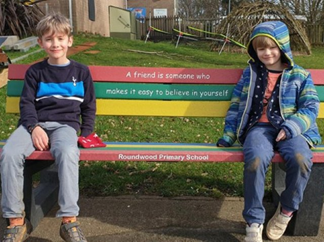 The money went towards the purchase of a friendship bench