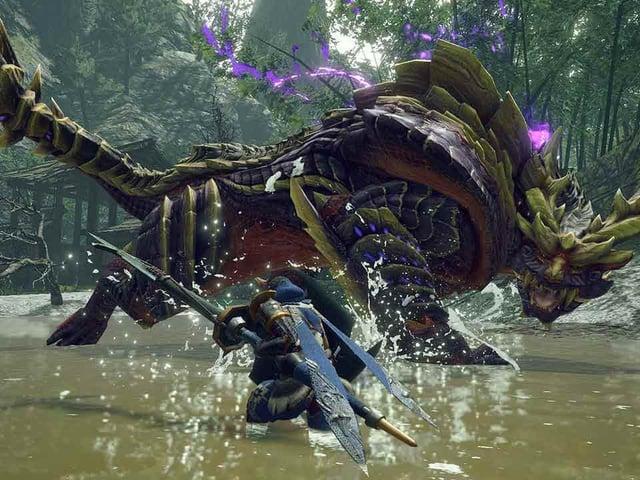 Monster Hunter Rise on Nintendo Switch