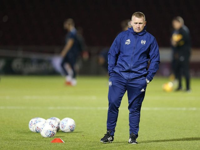 Mark Pembridge in his role as Fulham U23 head coach