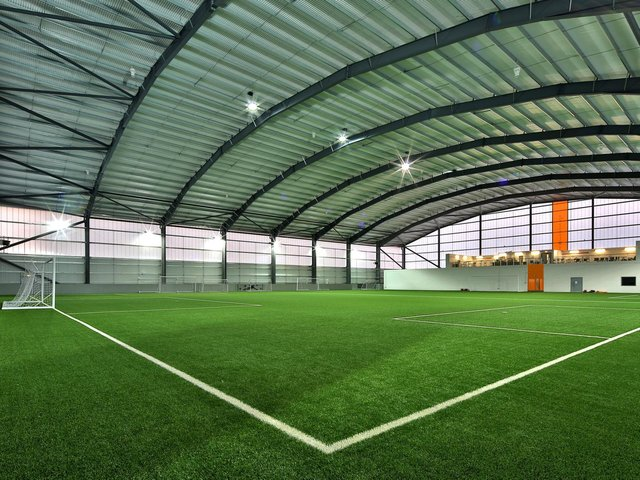 How the Hatters academy dome could look