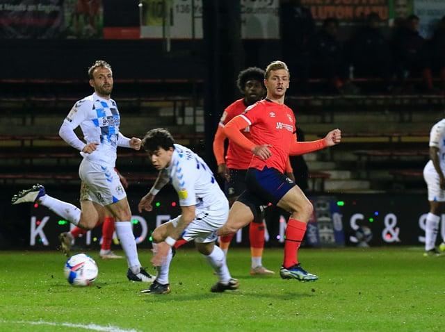 Town midfielder Kiernan Dewsbury-Hall