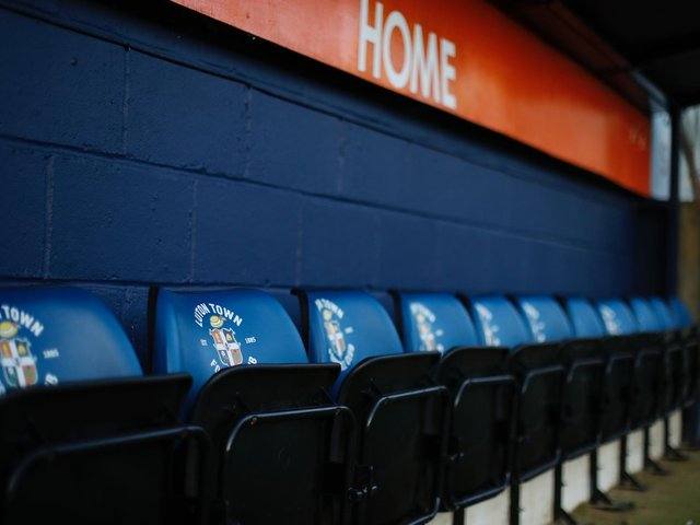 Luton Town have confirmed they are under a transfer embargo