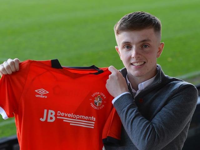 Jack Chambers scored the winner for Luton U21s
