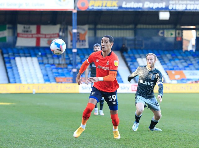 On-loan Town attacker Tom Ince