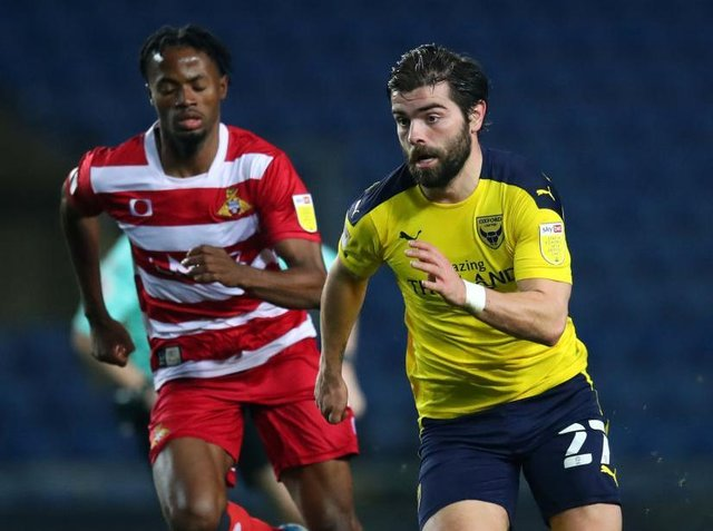 Elliot Lee on the ball for Oxford recently