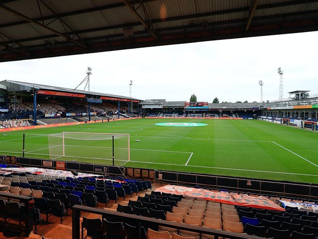 Hatters host rivals Watford at Kenilworth Road this weekend