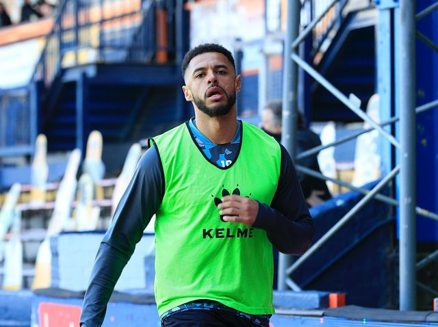 Former Luton striker Andre Gray was on the bench for Watford
