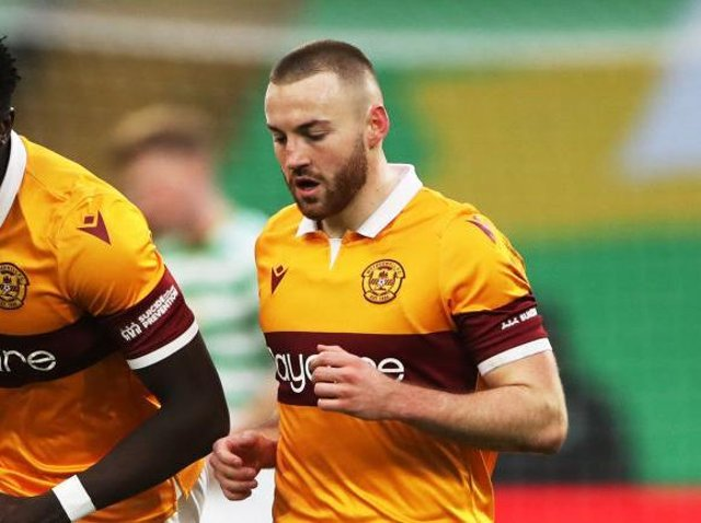 Motherwell midfielder Allan Campbell