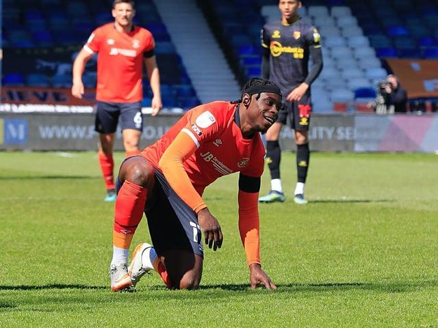 Town midfielder Pelly-Ruddock Mpanzu