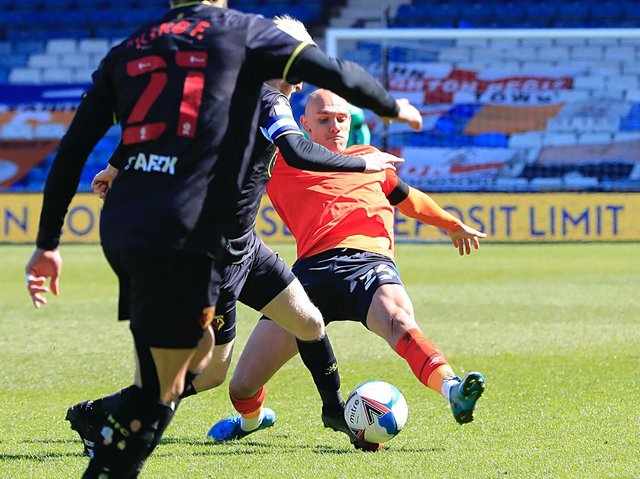 Kal Naismith was one of Luton's signings during the recent transfer window
