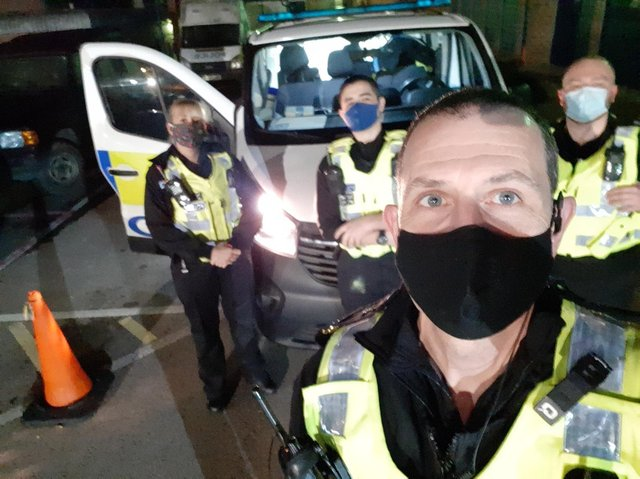 Special constables at Bedfordshire Police