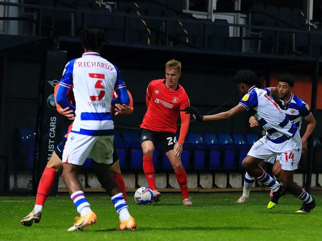 James Bree was part of a defence that kept their second successive clean sheet on Wednesday night