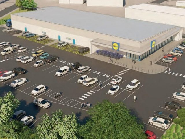 The proposed store on Houghton Road would include 125 car parking spaces
