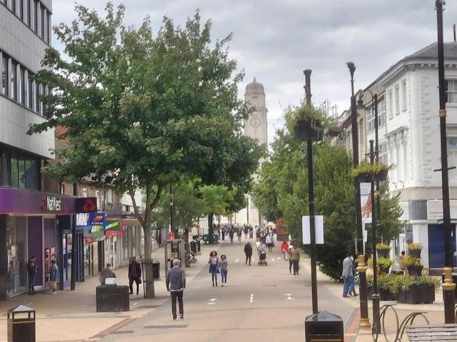 Luton has been named among the top ten 'bounce back' towns for its high street performance last week