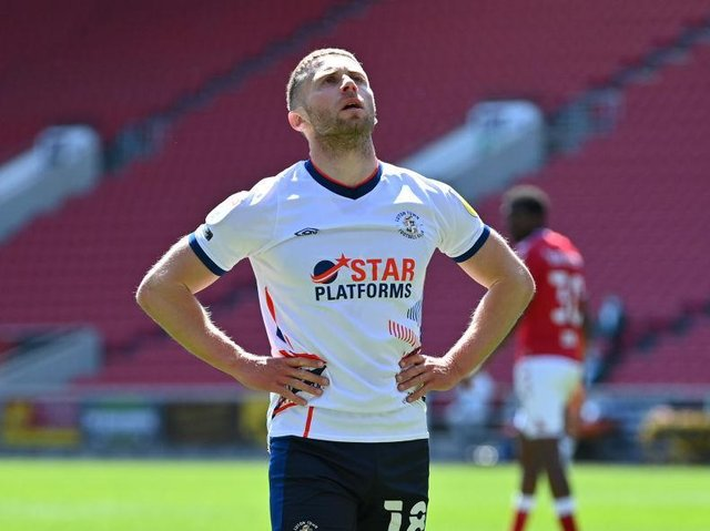 Town midfielder Jordan Clark reflects on a disappointing first half at Bristol City