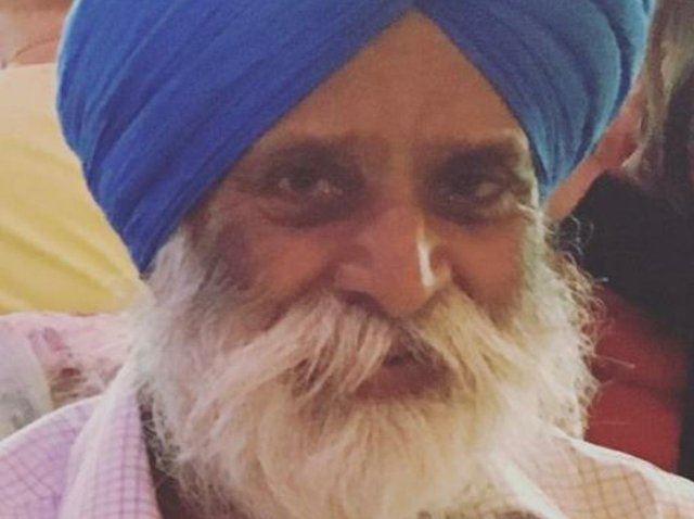 Gurdial Dhalliwal, 74, was killed in a hit and run on October 29 last year