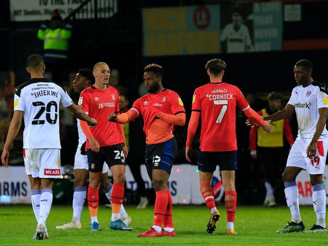 Luton finished their 2020-21 home campaign with a goalless draw against Rotherham United