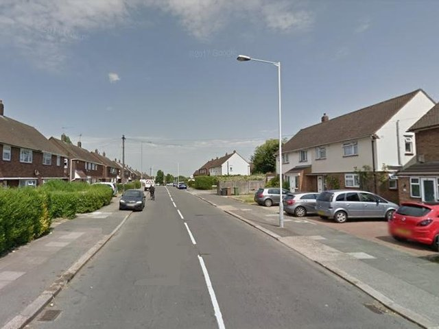 One of the alleged incidents took place in Long Croft Road