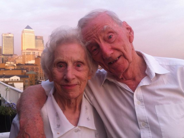 Donald Sontag and his wife Alice