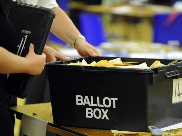 Ballot box     (stock image)