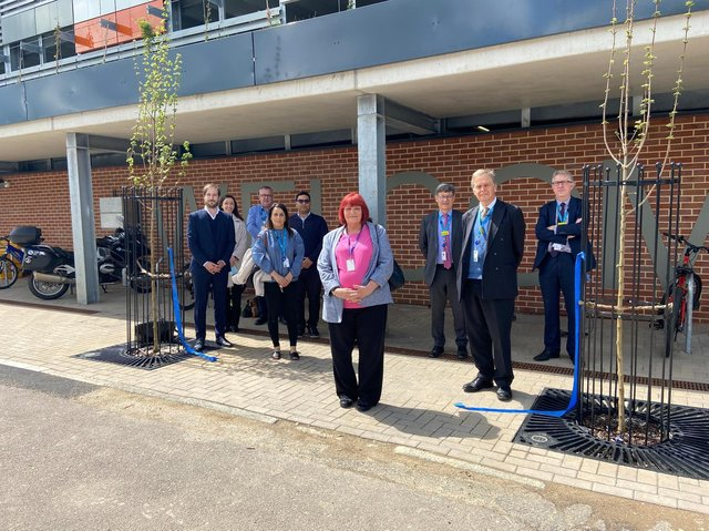 The car park launch today