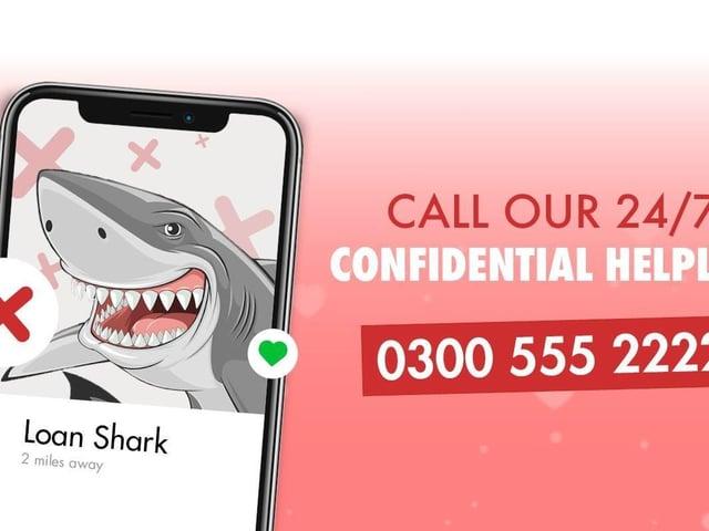 Loan shark helpline