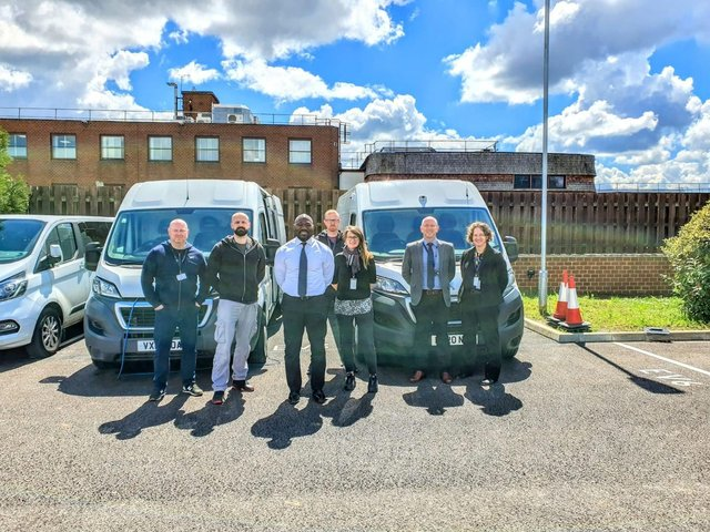 Beds PCC met with Beds Police Cyber team and decided to invest in a fourth Cyber Van