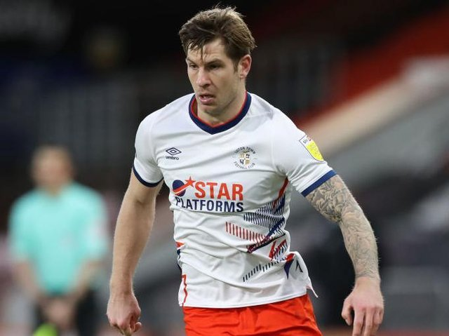 Striker James Collins left Luton for Cardiff this week