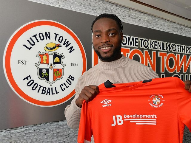 Fred Onyedinma has signed for Luton Town for an undisclosed fee