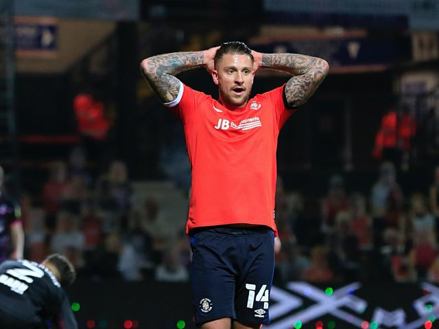 George Moncur has been released by Luton