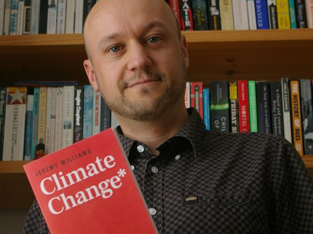 """Jeremy Williams' new book """"Climate Change is Racist"""" will be released next week"""